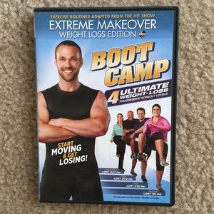 Extreme Makeover Boot Camp DVD